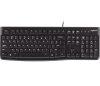LOGITECH Corded  Keyboard K120 - Business EMEA - US International - BLACK