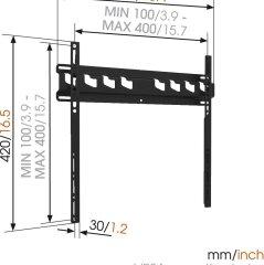 MA3000 81-140CM VOGELS