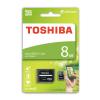 MICRO SD 8GB + ADAPTER TOSHIBA