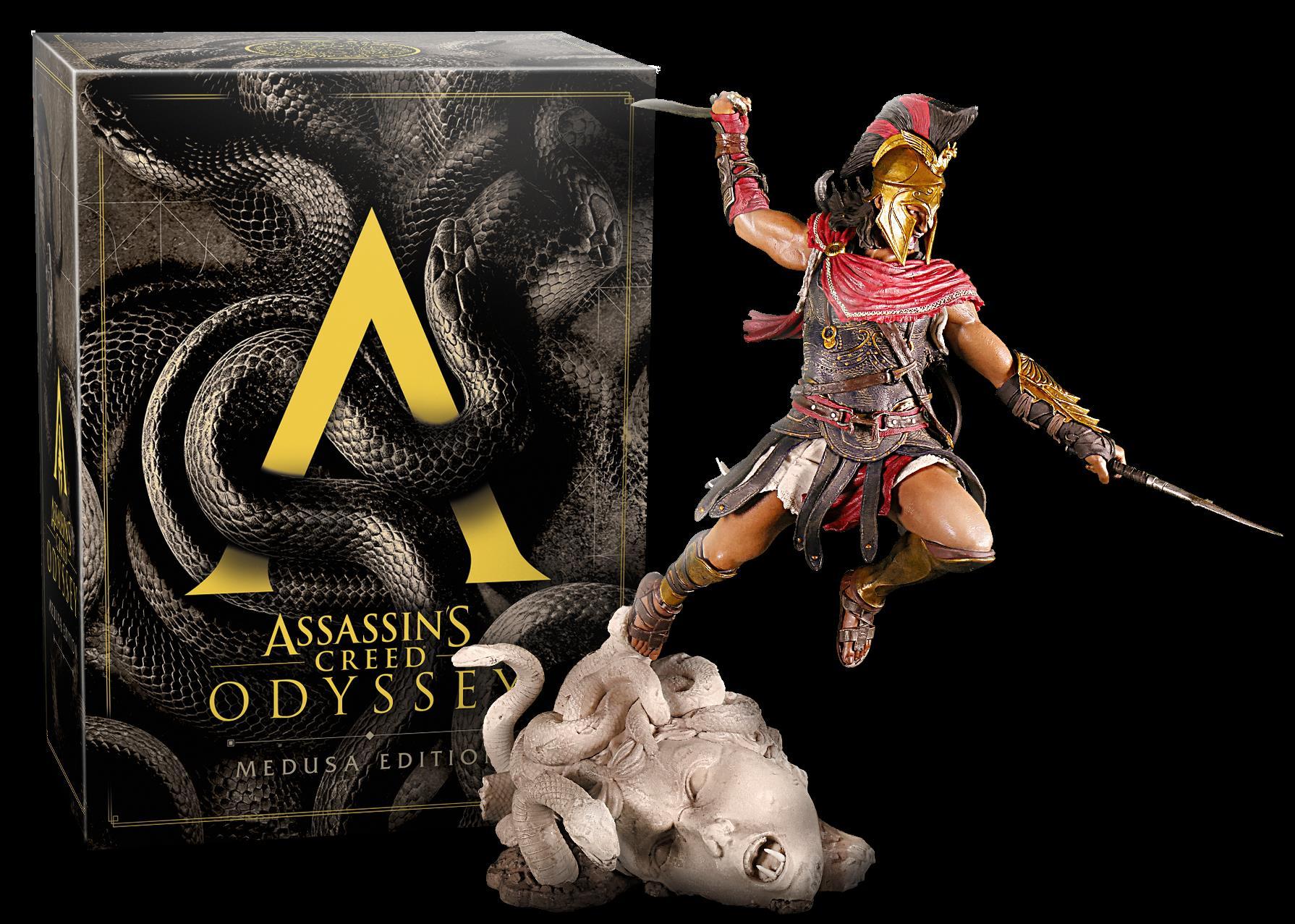 Assassin S Creed Odyssey Medusa Collectors Ed Xb1 Big Bang