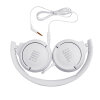 JBL T500 žične slušalke bele