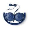 JBL T500 žične slušalke modre