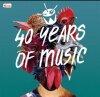40 YEARS OF MUSIC - RAZLIČNI 4CD