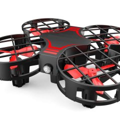XPLORE XP9601 SkyWalker Red Flip + Led dron
