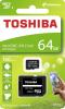 MICRO SD 64GB 100MB+ADAPT TOSHIBA