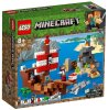 Lego Minecraft Dogodivščina s piratsko ladjo - 21152