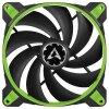 ARCTIC BioniX F140 PWM PST 140mm 4-pin ventilator, zelen
