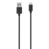 Belkin Micro USB CS 2M Kabel črn