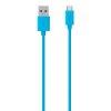 Micro USB ChargeSync 2M Kabel turkizen
