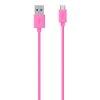 Belkin Micro USB CS 2m Kabel roza