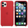 Apple iPhone 11 Pro Silicone Case Red