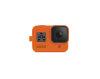 GoPro Sleeve + Hyper Oran ge (Hero 8 Black)