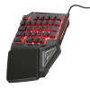 TRUST GXT-888 Assa žična gaming tipkovnica