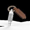 Adam Elements iKlips Duo+ Lightning to USB3.1 - 128GB Silver ključek