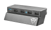 TRUST GXT 219 (PS4) razdelilnik (5x ports)