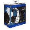 4GAMERS PS4 White-Camo gaming slušalke