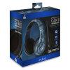 4GAMERS PS4 Blue-Camo gaming slušalke