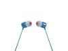 JBL T110 žične slušalke modre