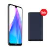 Xiaomi Redmi NOTE 8T 4/64 GB mobilni telefon + Power Bank 10.000 mAh Moonshadow Grey