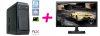 Komplet računalnik PCX Exam i5-9400F/8GB/SSD 256GB+1TB/GTX1650 + monitor Samsung S27E330H