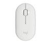 LOGITECH M350 Pebble bela brezžična miška