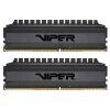 Patriot Viper 4 Blackout Kit 16GB (2x8GB) DDR4-4000 DIMM PC4-32000 CL19, 1.35V