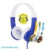 BUDDYPHONES Connect Foldbar modre žične slušalke z mikrofonom