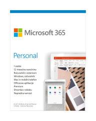 Microsoft Office 365 Personal SLO licenca 1 leto/1 uporabnik/brez medija