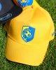NK BRAVO kapa s šiltom rumena