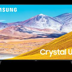 SAMSUNG 4K UHD UE55TU8072UXXH LED LCD Smart TV sprejemnik
