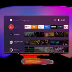 PHILIPS 4K UHD 65OLED805 Android TV sprejemnik