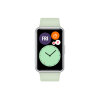 Watch Fit Active Green Silicone Strap HUAWEI