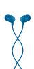 HOUSE OF MARLEY Little Bird modre ušesne slušalke