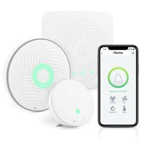 AIRTHINGS HOUSE KIT - sistem za spremljanje prisotnosti radona in kvalitete zraka v notranjih prostorih