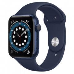 APPLE Watch S6 GPS, 44mm Blue Aluminium Deep Navy Sport Band pametna ura