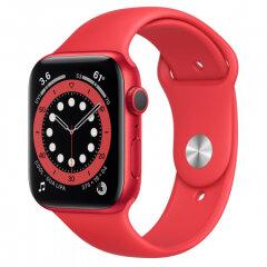 APPLE Watch S6 GPS, 44mm (RED) Aluminium Sport Band - Regular pametna ura