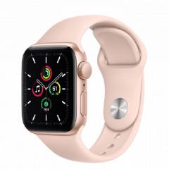APPLE Watch SE GPS, 40mm Gold Aluminium Pink Sand Sport Band pametna ura
