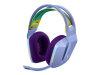 LOGITECH G733 vijolične gaming slušalke