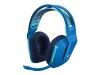 LOGITECH G733 Lightspeed modre brezžične gaming slušalke