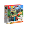 NINTENDO SWITCH CONSOLE V 1.1 + RING FIT ADVENTURES