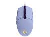 Miška Logitech G102 Gaming, vijolična