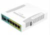 MIKROTIK hEX PoE RB960PGS 5-port gigabit PoE mrežni usmerjevalnik-router