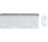 LOGITECH MK470 brezžični namizni komplet, beli