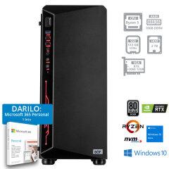 PC BOF THOR R5-5600X 16GB 512GB 2TB RTX3060 W10