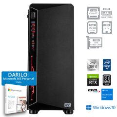 PC BOF BEAST I7-10700F 16 512GB 2TB RTX3060 W10