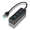 AXAGON USB 3.0 razdelilnik, 4-vhodi