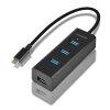 AXAGON USB-C 3.2 razdelilnik, 4-vhodi