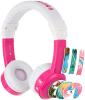 BUDDYPHONES InFlight - roza žične slušalke