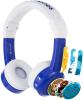 BUDDYPHONES InFlight - modre žične slušalke