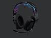 G335 žične gaming slušalke - črne